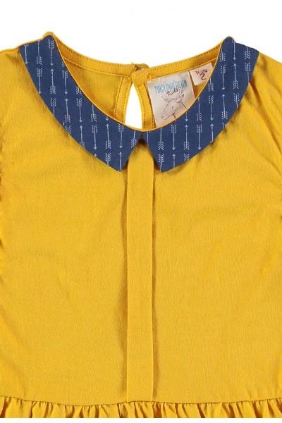 Yellow kids dress