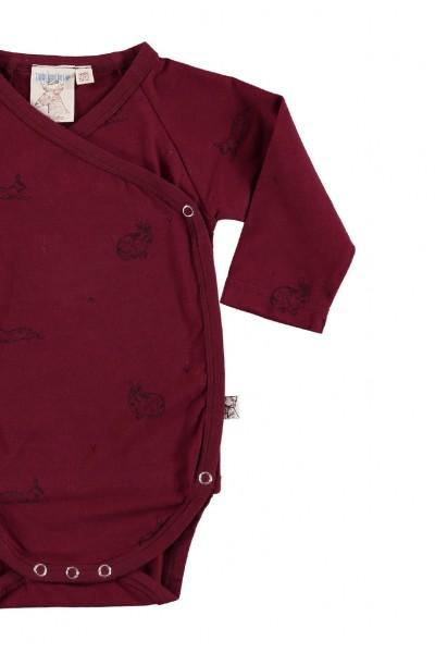 Body kimono granate