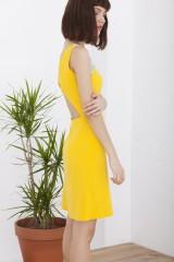 Vestido Hela amarillo