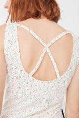 Maya pockets dress with geometric print