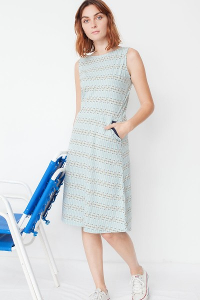 Maya pockets dress with arrow print