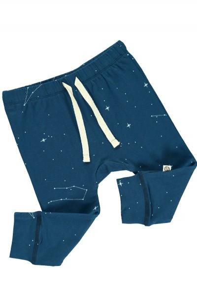 Pantalón bebé con estampado de constelaciones