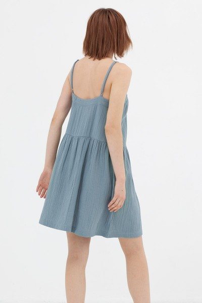 Vestido charlestón crudo Ámbar