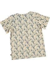 Camiseta unisex estampado geométrico