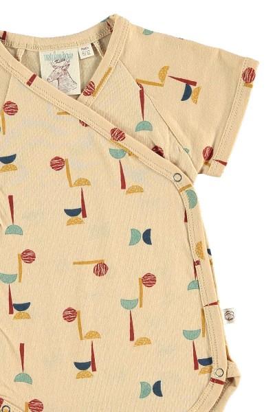 Body kimono abstracto