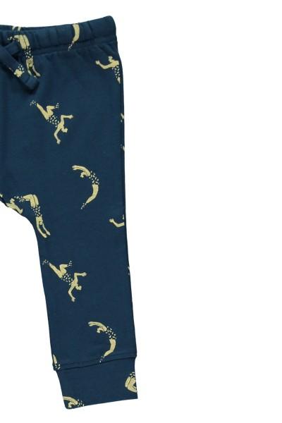Pantalón bebé azul marino estampado acróbatas