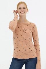 Camiseta básica rosa pastel Diana