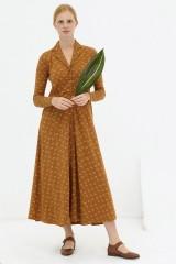Vestido largo marrón Dulce