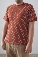 Camiseta Hombre Billie Teja