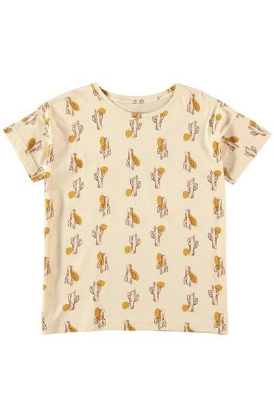 Camiseta manga corta unisex Beige